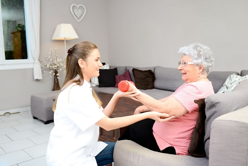 Physical Therapy for elderly - Home care services